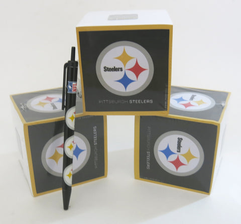 Pittsburgh Steelers Paper cubes and Pen set