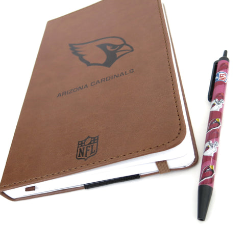 Arizona Cardinals  Large Journal  and Pen set.
