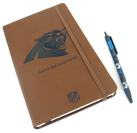 Carolina Panthers  Large Journal  and Pen set.For dad on Father's day