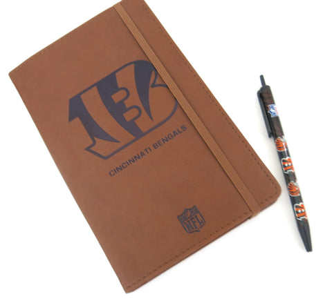 Cincinnati Bengals  Large Journal  and Pen set.