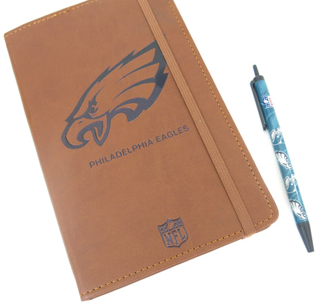 Philadelphia Eagles large journal and pen set. Makes a great Father's Day gift.