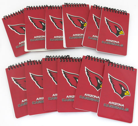 Arizona Cardinals memo pads  12 pack