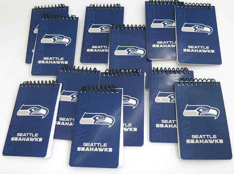 Seattle Seahawks memo pads  12 pack. A great Father's Day gift.