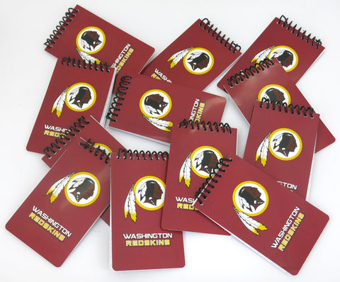 Washington Redskins 12 memo books, a great Father's Day gift