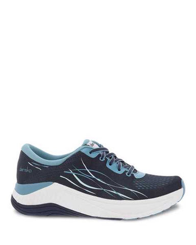 Dansko Pace Navy Mesh Walking Shoe