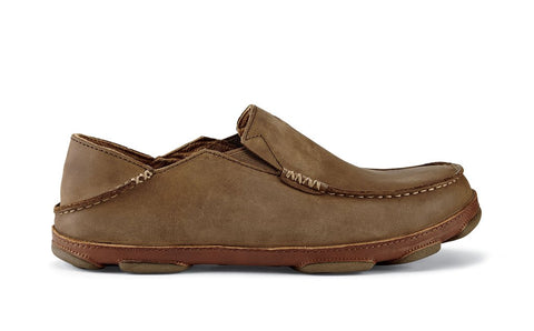 Olukai Moloa in Toffee, Black & Dark Shadow