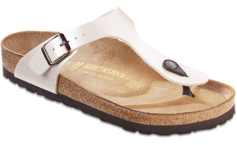 Birkenstock Gizeh in Antique Lace and Brown
