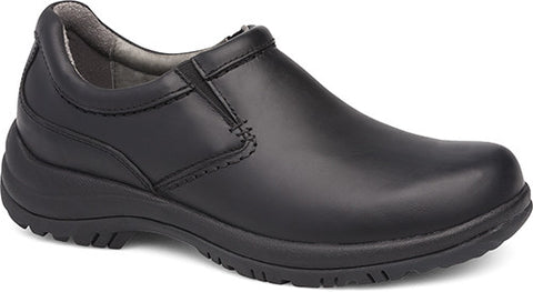 Dansko Men's Wynn Cushioned Insole Slip-On in Black