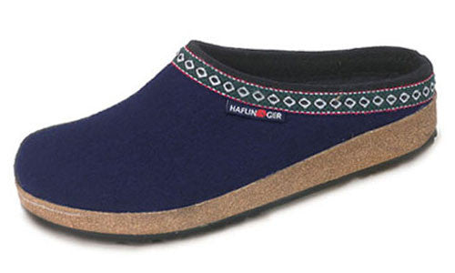 Haflinger Wool Hard Sole Slippers +