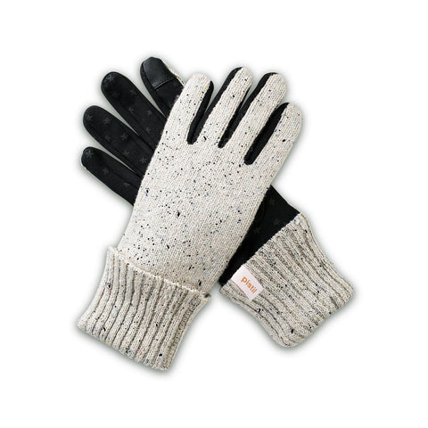 Pistil Alex Glove in Ivory & Charcoal
