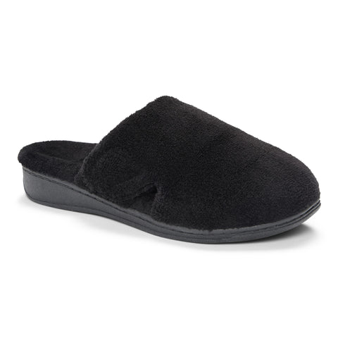 Vionic Indulge Gemma Black Slipper