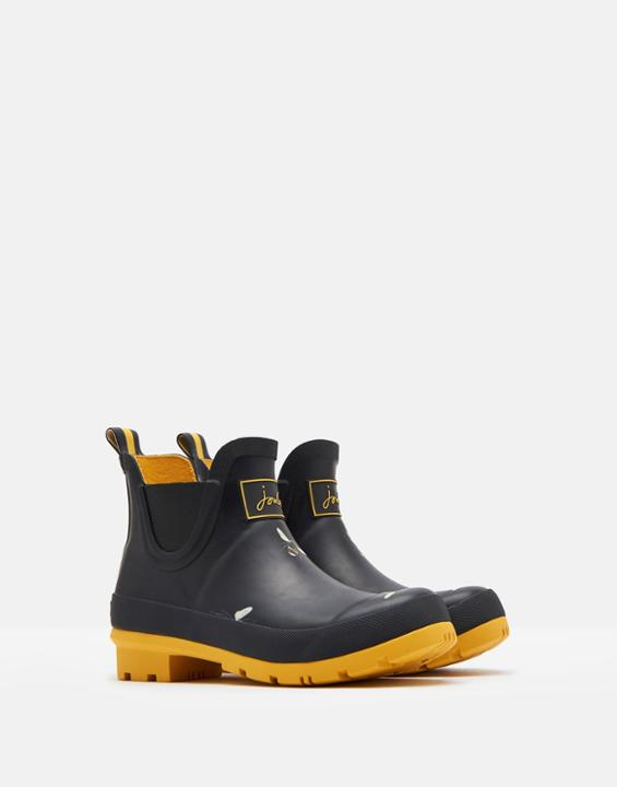 Joules Bee Short Height Rain Boots