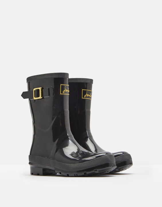 Joules Glossy Kelly Mid Height Rain Boots