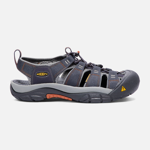 Keen Men's Newport H2 Water Shoe in Grey & Black