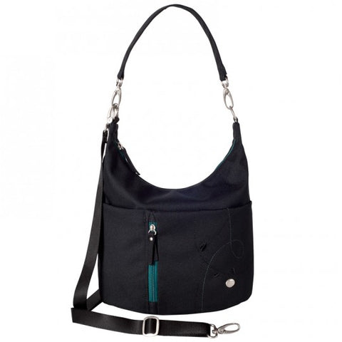 Haiku Ascend Hobo Bag in Black, Gray & Midnight