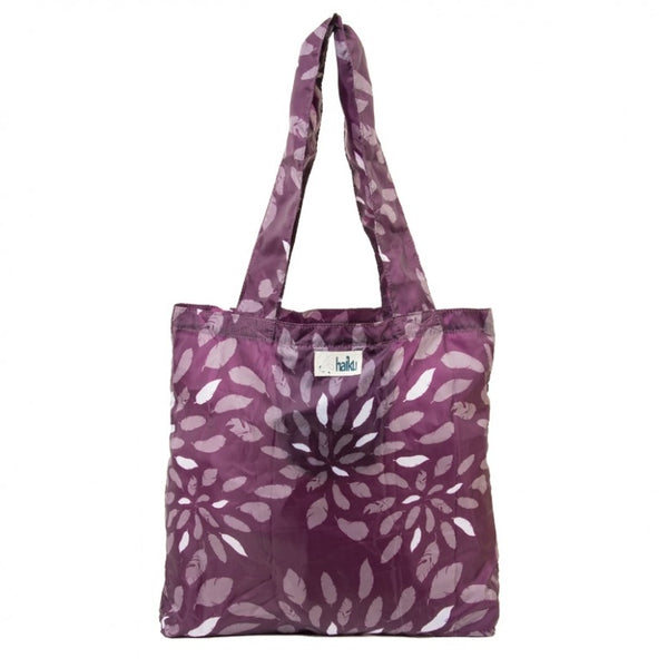 Haiku Bloom Tote in Geo, Purple or Blue