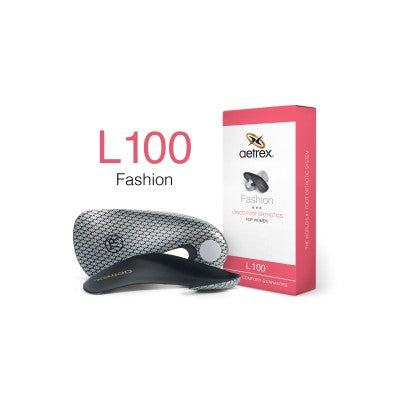 Aetrex L100  Women's Fashion Med/High Arch Orthotic