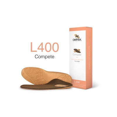 Aetrex L400 Women's Sport/Compete Med/High Arch Orthotic