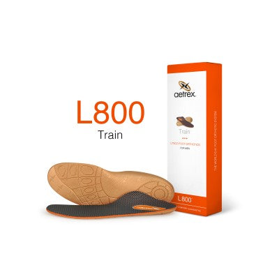 Aetrex L800 Men's Train Med/High Arch Orthotic