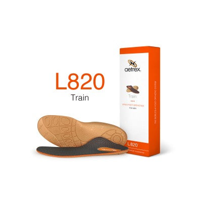 Aetrex L820 Men's Train Flat/Low Arch Orthotic