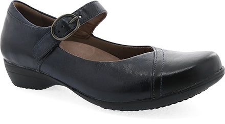 Dansko Fawna in Navy & Black Available in Wide Widths