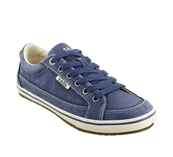 Taos Moc Star Canvas Sneaker in Indigo, Sage & Graphite