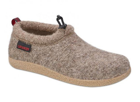 Giesswein Wool Slipper in Earth & Black