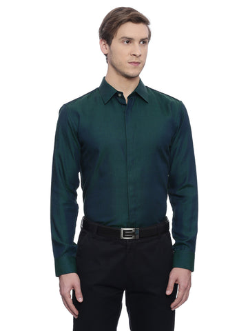 Royal Green Formal Shirt - MM0631