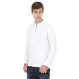 Short White Kurta - MM0520