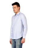 Blue Linen Shirt - MM0592