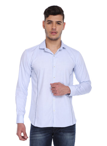 blue formal shirt - MM0612