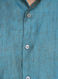 Green Linen Shirt - MM0616