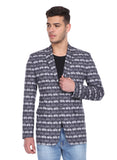 Cycle Print Blazer - MMJ010