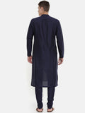 The Trio Cotton Silk Kurta Set  - MMK0320