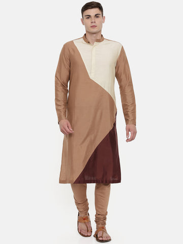 The Trio Cotton Silk Kurta Set  - MMK0321