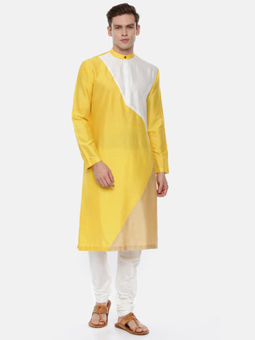The Tri Color Kurta Set - MMK0348