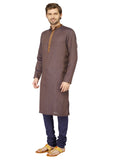 Brown Kurta Pyjama - MMK094