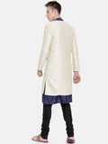 Linen Silk Reversible Long Jacket - MMLORJ001