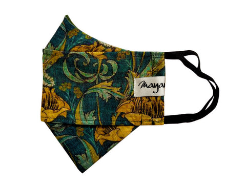 Linen Printed Double Protection Mask - MMMASK043