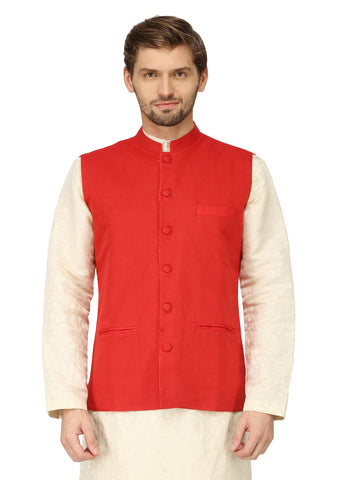 Reversible Nehru Jacket-MMRNJ002