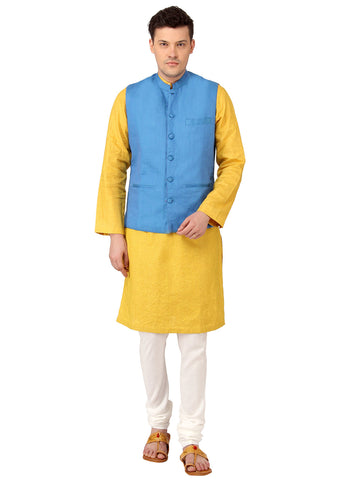 Reversible Nehru Jacket - MMRNJ004