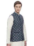 Classic Printed Linen Jacket - MMWC064
