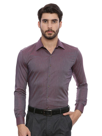Wine Formal Shirt - MM0660