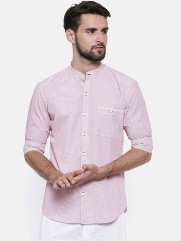Pink Chex Shirt - MM0698