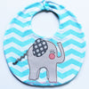 Baby elephant bib sewing pattern PDF