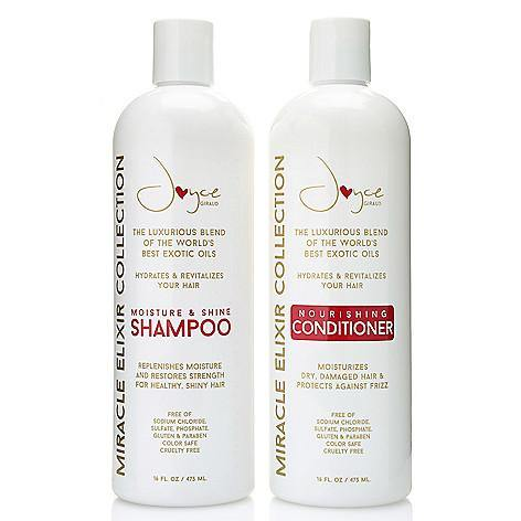 Miracle Elixir Nourishing Shampoo + Conditioner Bonus Size Duo - Joyce Miracle Elixir Collection