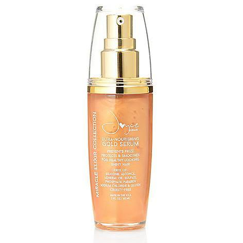 Try-It-Now Price: Silicone-Free Gold Hair Serum - Joyce Miracle Elixir Collection