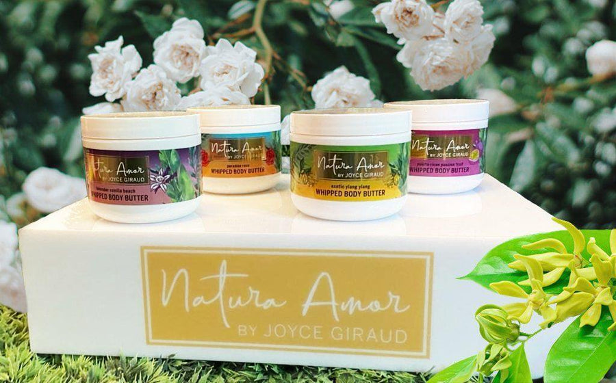Box of 4 Natura Amor Whipped Body Butter - Various Scents