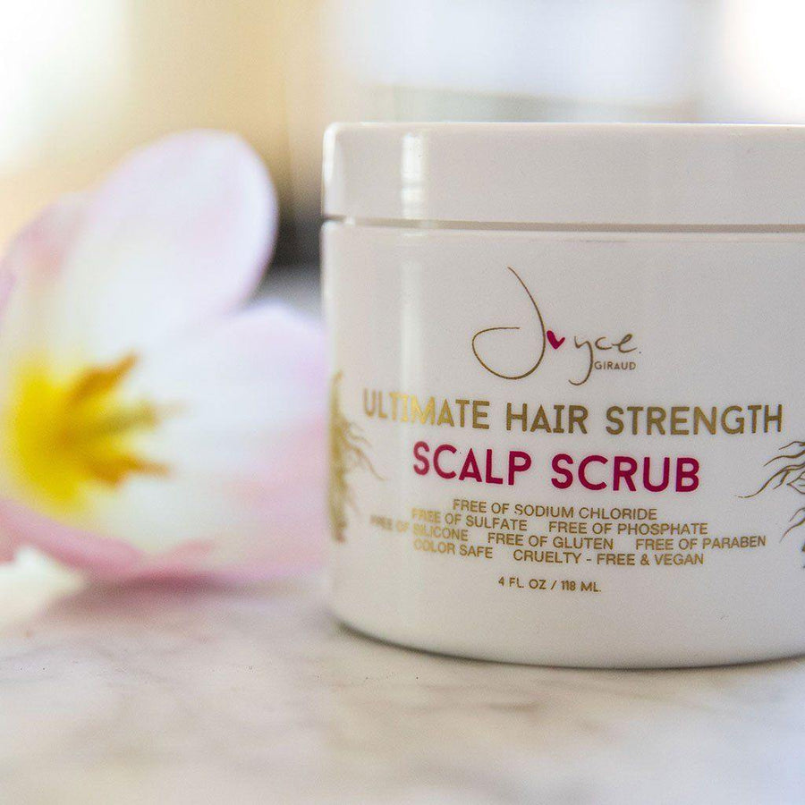 Ultimate Hair Strength Scalp Scrub - Joyce Miracle Elixir Collection