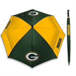 "GREEN BAY PACKERS UMBRELLAS WINDSHEER 62"" - AtlanticCoastSports"